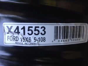 15 inch Winter tire rims (Ford or Chevrolet)