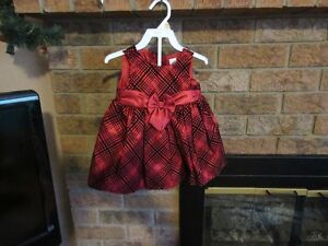 Holiday Dress Size 6-12 Months