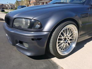 2002 E46 M3 coupe, 6 speed manual, $14k OBO