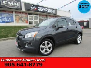 2015 Chevrolet Trax LTZ  AWD LEATHER ROOF CAM HS PREM-AUDIO PARK
