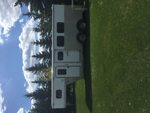 Horse trailer/weekender combo package