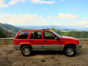 1998 Jeep Gr Cherokee 4X4-10K on rebuilt engine and transmission