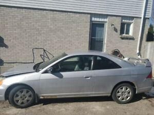 2002 Honda Civic $1000 As Is! Driveable Condition!