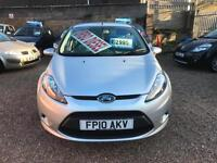 2010 Ford Fiesta 1.4 TDCi Edge, Silver 5dr Hatch, **ANY PX WELCOME**