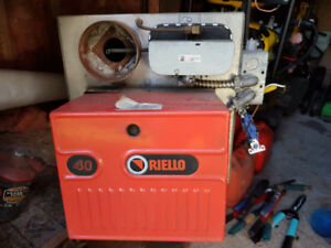 Used Garage, Furnace Burner, Riello