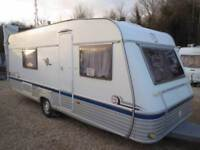 TEC Weltbummler Creation 04 4 Berth Fixed Twin Beds Single Axle Touring Caravan