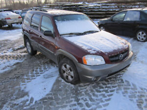 2003 Mazda Tribute ** FOR PARTS ** INSIDE & OUTSIDE **