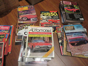 Car Magazine Collection--50's Fords etc.--Reduced price