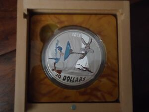 2 oz looney tunes silver coins for sale