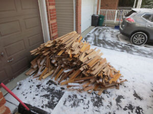 Free Harwood Firewood Oak