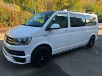 2017 Volkswagen Transporter T6 TDI 9 SEAT SHUTTLE SE LWB IN CANDY WHITE - EURO S