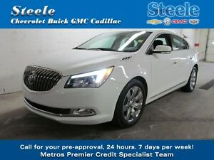 2014 Buick LACROSSE CXL One Owner & Dealer Maintained