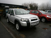 2004 Land Rover Freelander 2.0Td4 S 5door * EXCELLENT LOW MILEAGE DIESEL 4X4 *