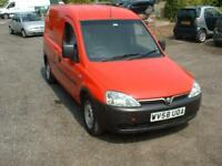 VAUXHALL COMBO 1.3CDTI 2008 ONE OWNER FSH 10 STAMPS £1295 NO VAT