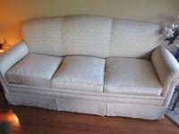 Ensemble canape 3 places avec 3 chaises 3 Place sofa + 3 chairs