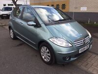 Mercedes A150 elegance petrol manual mot,service history, 2keys,new shape w169