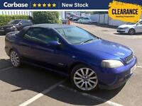 2005 VAUXHALL ASTRA 1.8i 16V Exclusiv 2dr Convertible