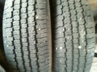 2 USED P195/70R14 GOODYEAR CONQUEST