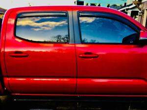 3rd Gen Toyota Tacoma Double Cab Deflectors