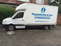 Man and van Oldham stockport Ashton Manchester