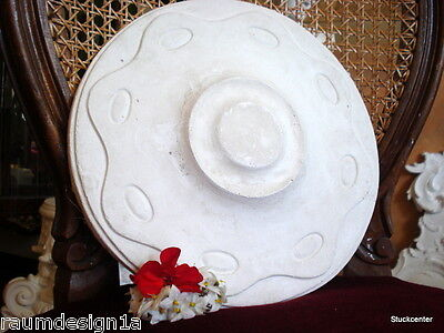 Stucco Art Deco  / Jugendstil Stuckrosette - 100-196 aus Stuck