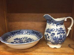 Wash basin & pitcher