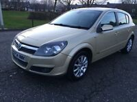 VAUXHALL ASTRA DESIGN TWINPORT, MOT OCTOBER, SERVICE HISTORY, NOT 307 FOCUS MEGANE LEON FABIA