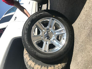 "4 brand new 20"" dodge rims and tires"
