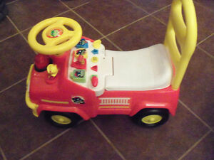 Fire Truck/Walker - Makes Sounds