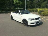 2011 BMW 1 Series 3.0 125I M SPORT AUTO,BLACK LTH HEATED SEATS,BLACK ED ALLOYS,S