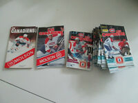 Lot Of Montreal Canadiens Pocket Schedules NHL Hockey