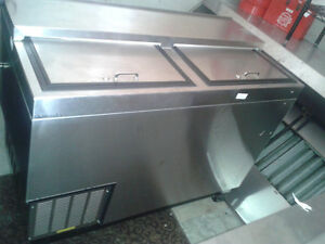 Ice machine, meat slicer, grill, burner, oven, charbroiler