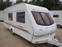 Elddis Typhoon GT 2001 4 Berth End Washroom Single Axle Touring Caravan
