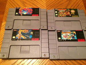 Super Nintendo (SNES) games and console for sale