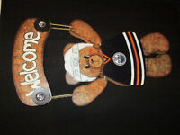 DOUBLE your FUN with this Edmonton OILERS / BIRTHDAY Bear