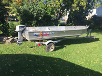 Boat Motor Trailer Package  REDUCED !!!!!!!