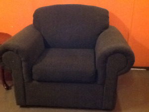 Loveseat & Chair