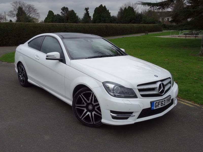 Mercedes c class c250 amg sport plus coupe 2013 63 in for 2013 mercedes benz c class c250 sport