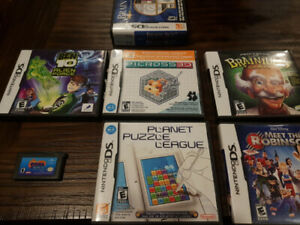7 ds games 1 advance game