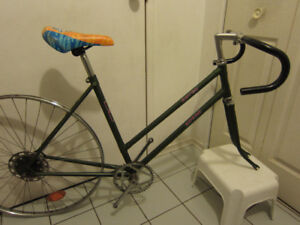 Single speed, fixed gear project British Supreme butted frame