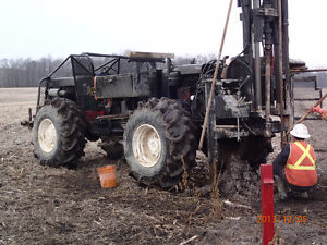1988 CME 55 Drill Rig Mounted on Ardco 4 x 4 ATV