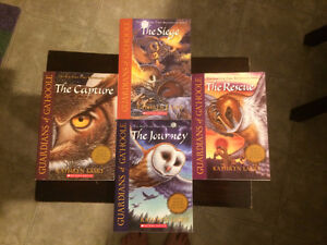 Guardians of Ga'Hoole series 1 to 4 by Kathryn Lasky