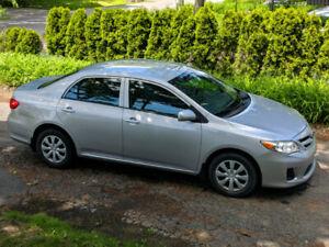 Toyota Corolla 2012 EN TRES PARFAIT ETAT