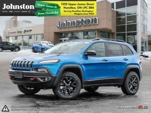 2018 Jeep Cherokee Trailhawk 4x4  - Navigation - $237.95 B/W