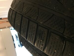 Winter tires for Mercedes S class-Condidtion As new London Ontario image 4