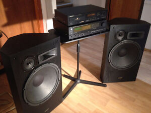Optimus and Pioneer Complete  Stereo System