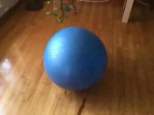 Ballon d'exercice Bleu