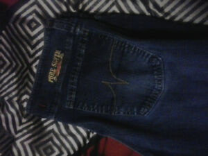 Womens pure seven jeans 32/34 $10