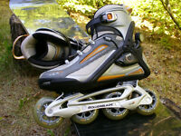 Rollerblade Crossfire TFS, size 9 US, LIKE NEW!