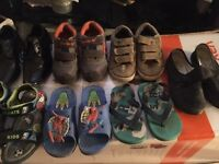 Kids assorted shoes